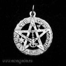 Colgante Tetragrammatón plata