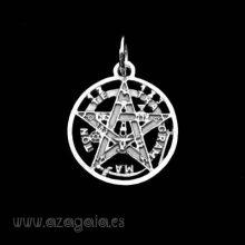 Colgante Tetragrammaton Plata 925
