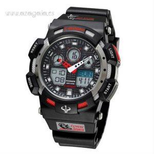 Reloj estilo G Shock Lapgo Pasnew Negro 100 m