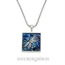 Colgante libélula cristal