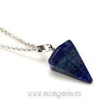 Péndulo piedra lapislázuli-colgante