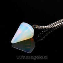 Péndulo piedra opalina-colgante
