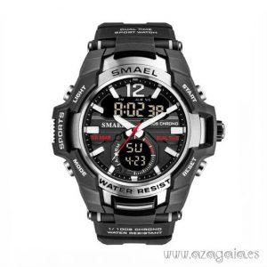 Reloj Deportivo Hombre correa negra Smael