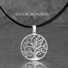 Colgante plata árbol de la vida