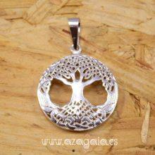 Colgante árbol de la vida Celta en plata 925