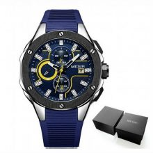 Reloj Azul cronógrafo deportivo-hombre-marca-Megir