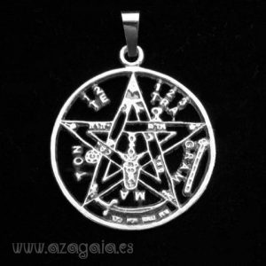 Colgante Tetragrammaton Plata de ley