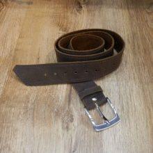 Cinturón cuero color marrón