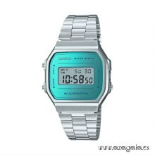 Reloj Casio Vintage azul turquesa acero inoxidable