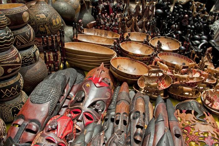 Los Massai y su artesanía