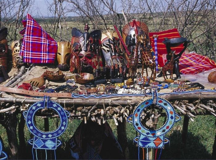 Los Masái y su artesanía