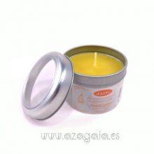 Vela perfumada lata aroma Manzana