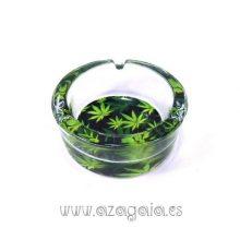 Cenicero cristal Cannabis