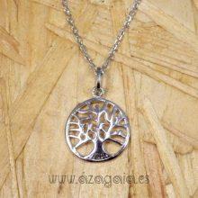 Colgante árbol vida plata 925