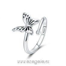 Sortija Plata Mariposa